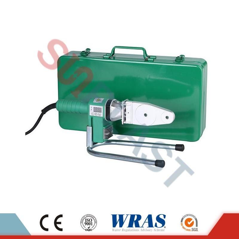 20-63mm Socket Fusion Welding Machine Kanggo PPR Pipe & amp; HDPE Pipe
