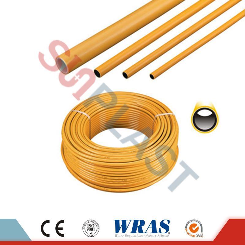 Warna Kuning PE-AL-PE Pipa Multilayer Untuk Gas