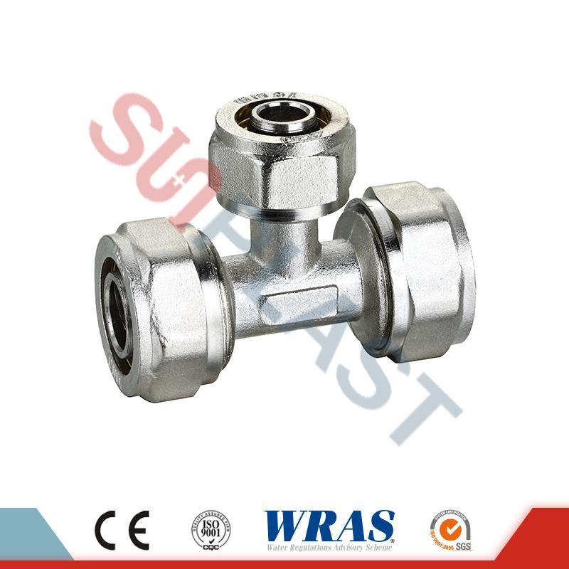 Kompresor Brass Equal For PEX-AL-Multilayer PEX Pipe