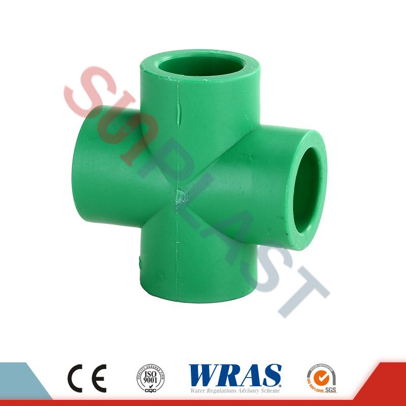 DIN8077 PPR Cross Fitting